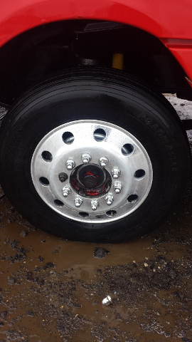 Tire Rim After