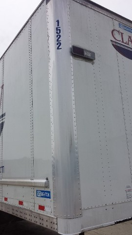 Semi-Trailer After Cleaning